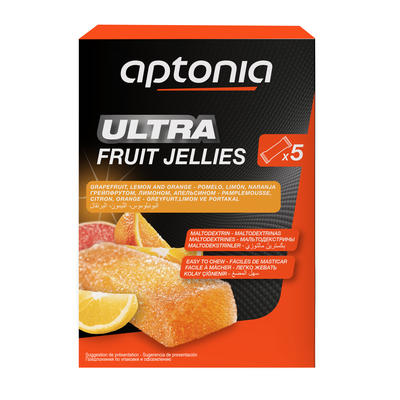 Pâte de fruits ULTRA agrumes 5x25g
