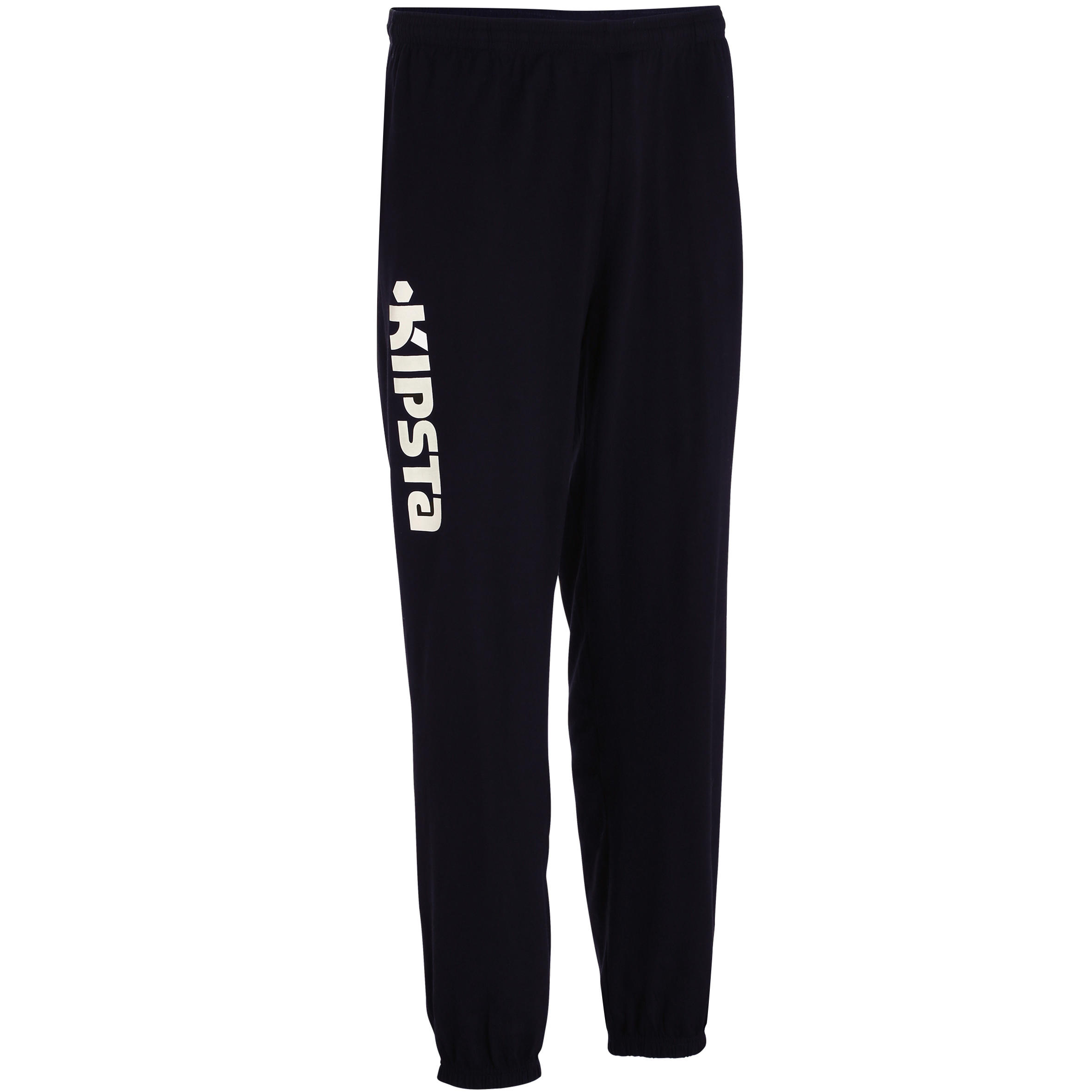 Pantalon volleyball V 100 adulte noir blanc