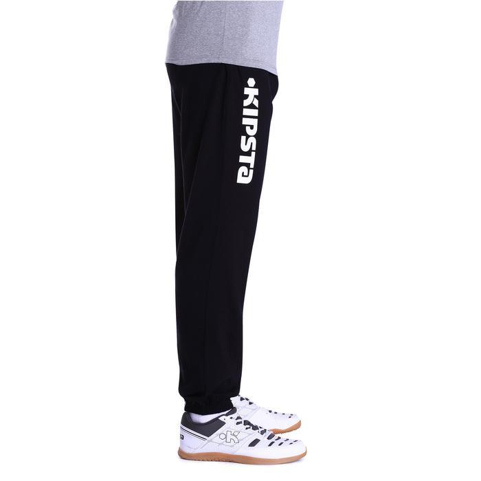Pantalón voleibol V 100 adulto negro blanco