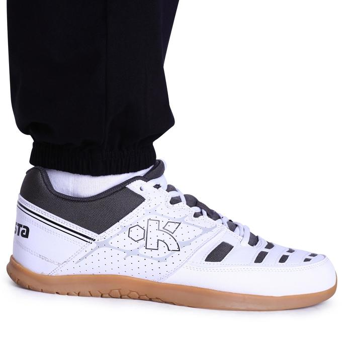 Volleybalbroek V100 volwassenen zwart/wit