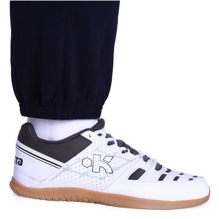 Pantalón de voleibol V100 adulto azul oscuro blanco