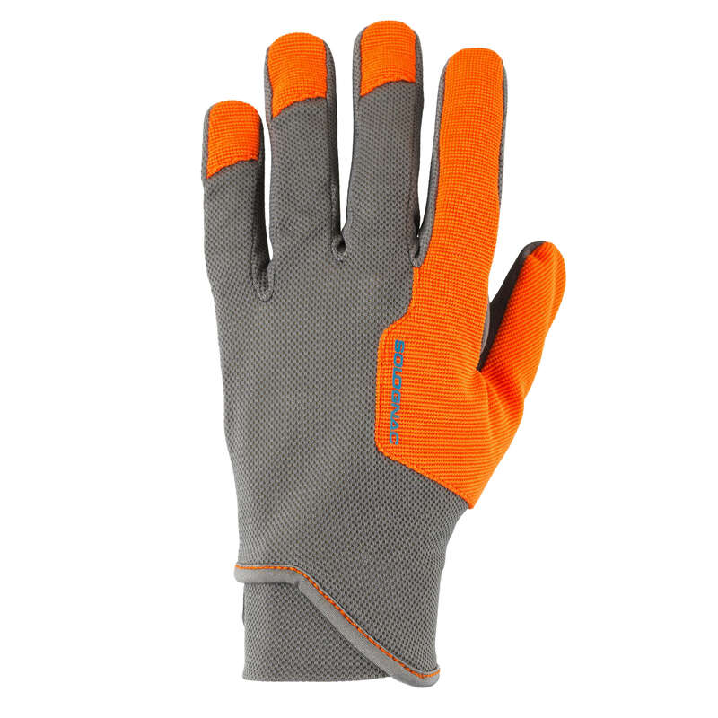 CLAY SHOOTING EQUIPMENT Shooting and Hunting - Clay Shooting Gloves - Grey SOLOGNAC - Clay Pigeon Shooting