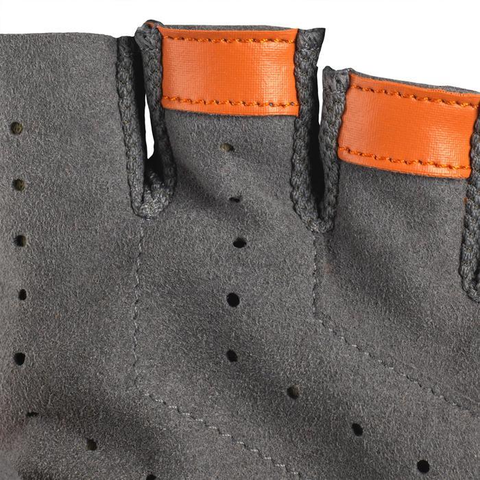 Vingerloze handschoenen voor kleiduifschieten grijs