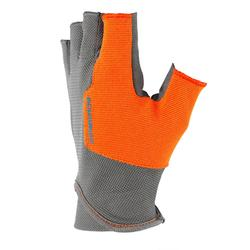 GANTS MITAINES BALL TRAP GRIS SOLOGNAC