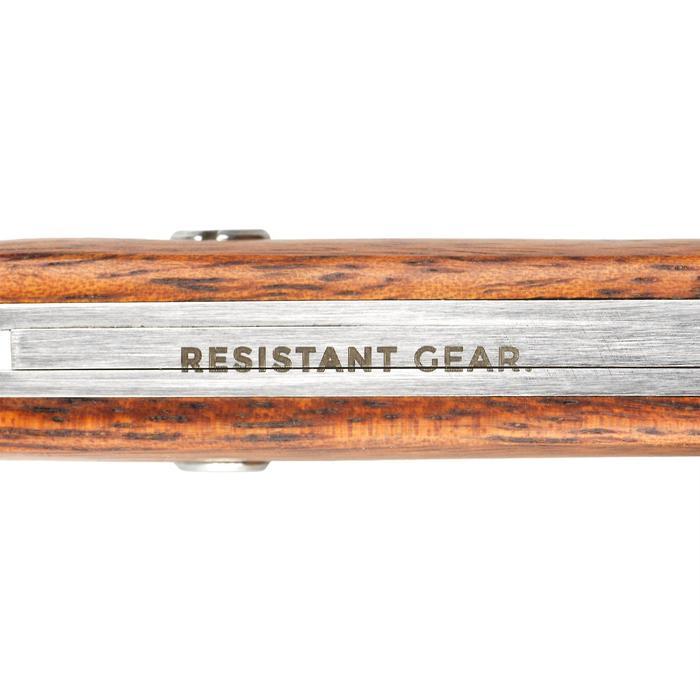 Navaja plegable Axis 75 madera marrón