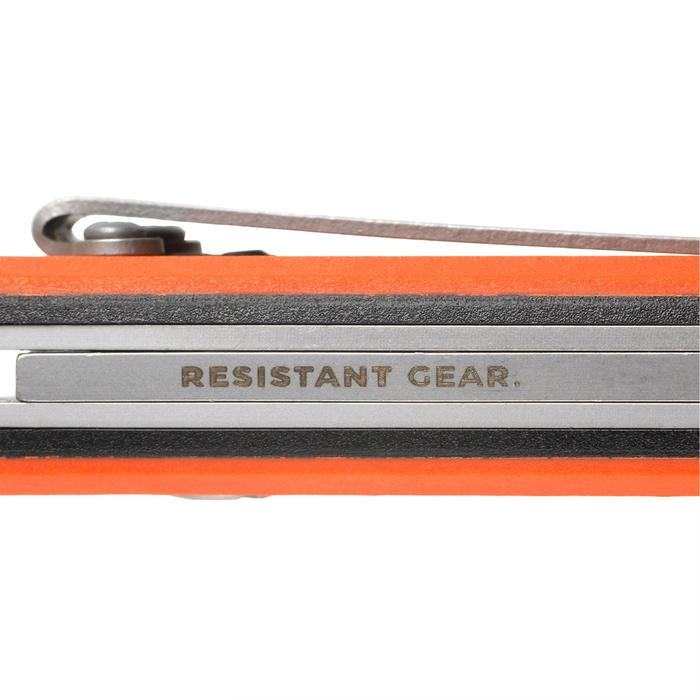 Couteau chasse pliant Axis 85 Grip Orange - 1148718