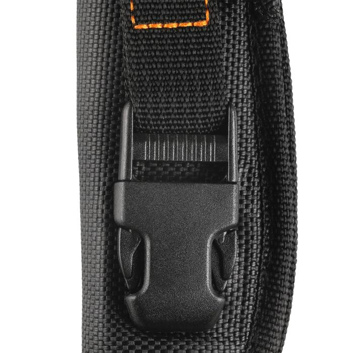 Couteau Lame Fixe Sika 90 Grip Orange - 1148736