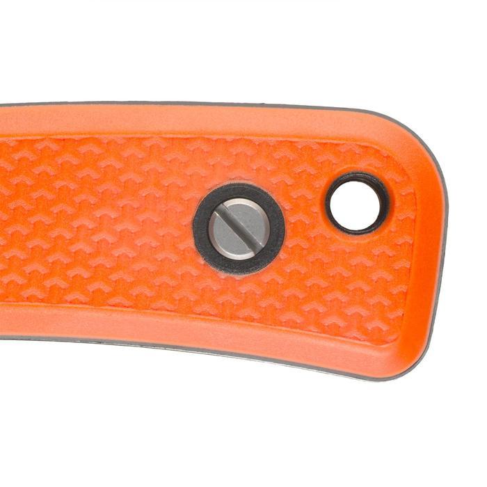 Messer Sika 90 Grip mit feststehender Klinge orange