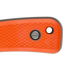 Couteau Chasse Fixe 13cm Grip orange Sika 130
