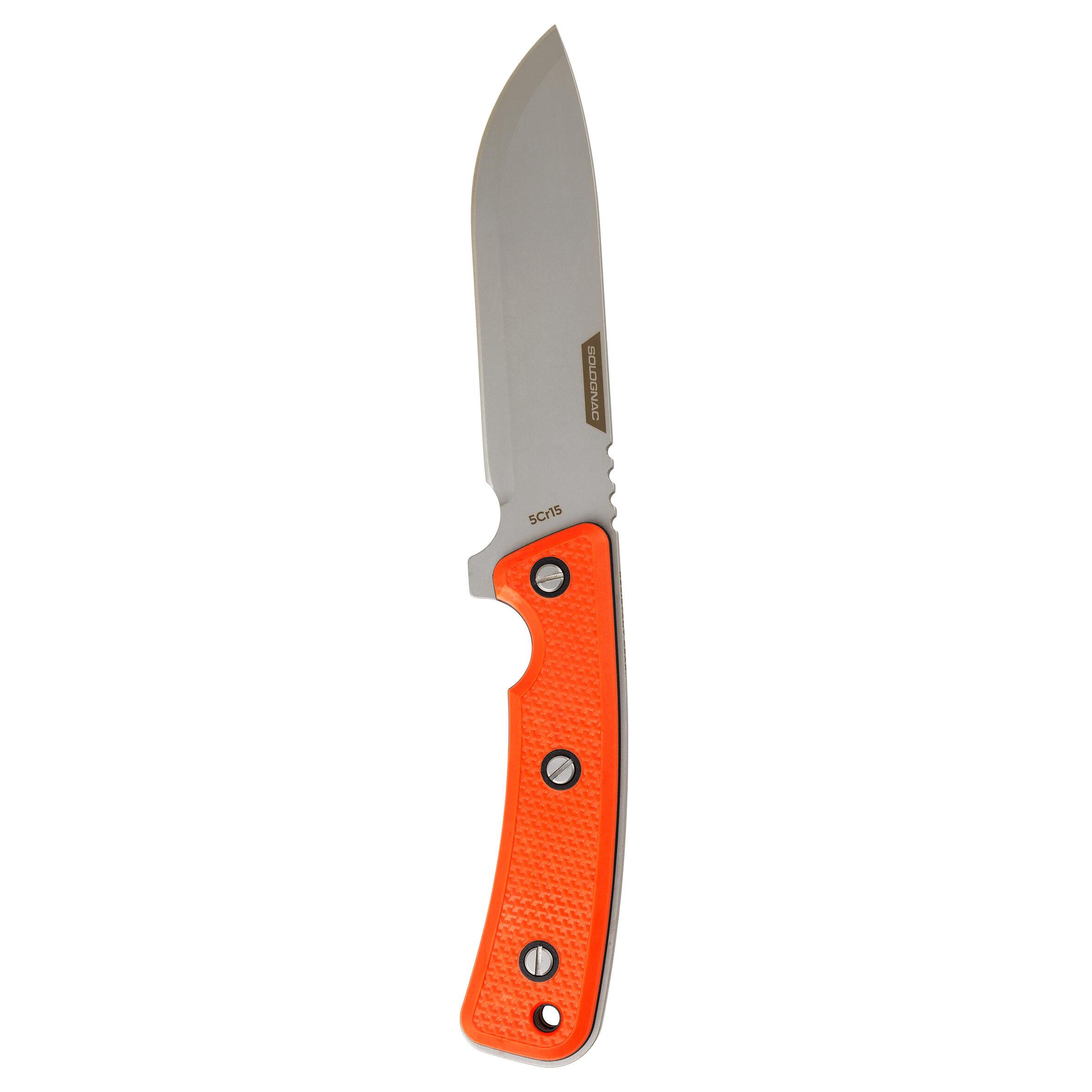 Couteau fixe Sika 130 poignée Orange