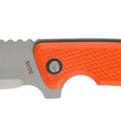 Messer Sika 130 Grip mit feststehender Klinge orange