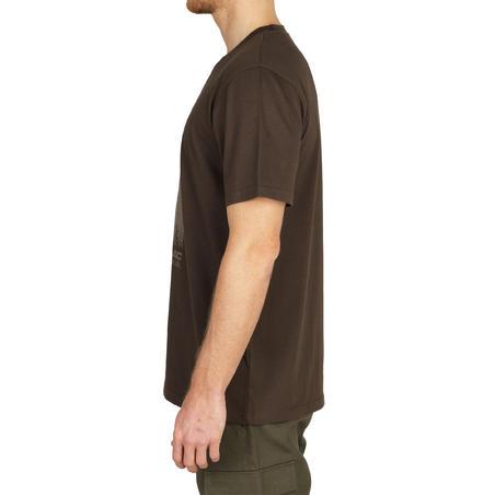 100 Short-Sleeve Hunting T-Shirt - Deer
