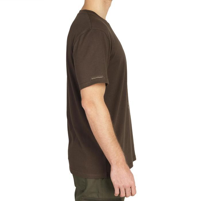 Camiseta de caza de manga corta 100 Ciervo