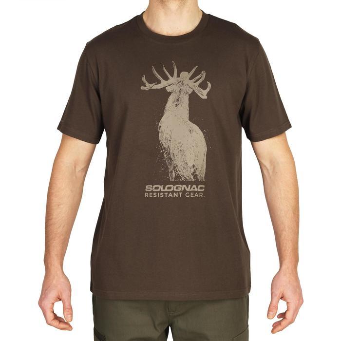 CAMISETA 100 ESTAMPADO ciervo