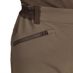Pantalon Caza Solognac Sgtr 900 Reforzado Marrón Tiempo Seco