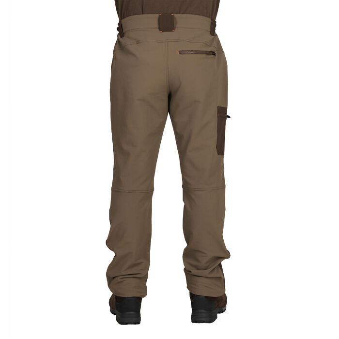 PANTALON chasse RENFORT 900 MARRON - 1148829