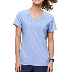 Women's MH500 short-sleeved mountain hiking t-shirt - Mauve