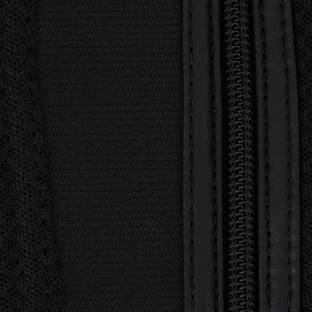 Mini-jambières équitation adulte 100 MESH noir