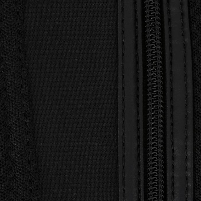 Reit-Chaps 100 Mesh Erwachsene schwarz