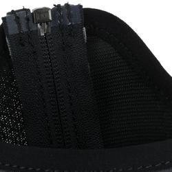 Minichaps Mesh 100 voor volwassenen ruitersport zwart