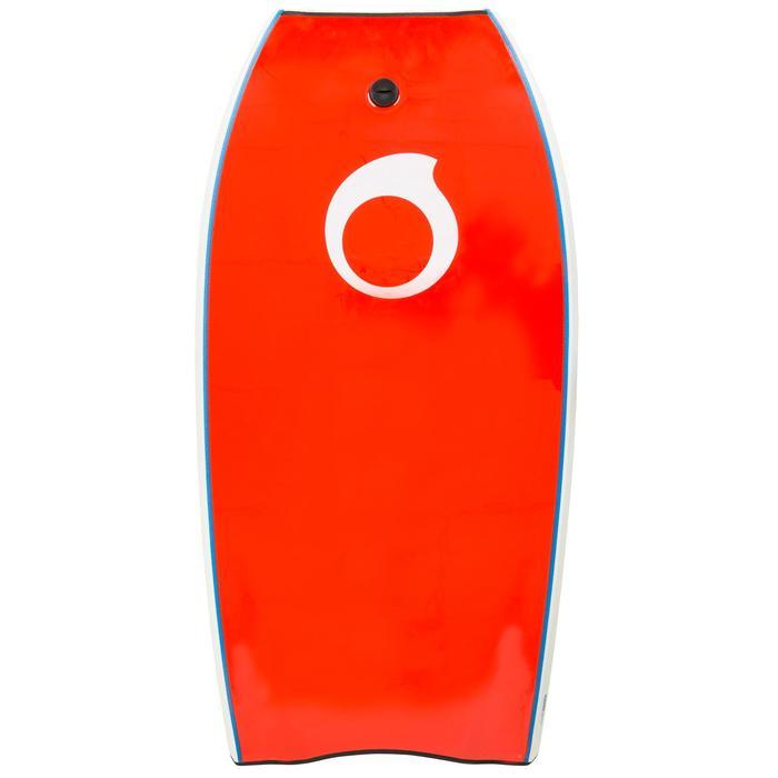 """Bodyboard 900 42"""" con núcleo de polipropileno y stringer + leash"""