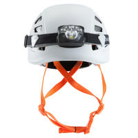 Climbing and Mountaineering Helmet - Rock Grey