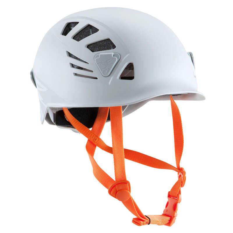 MOUNTAINEERING & CLIMBING HELMETS Climbing - Helmet - Rock Grey SIMOND - Climbing