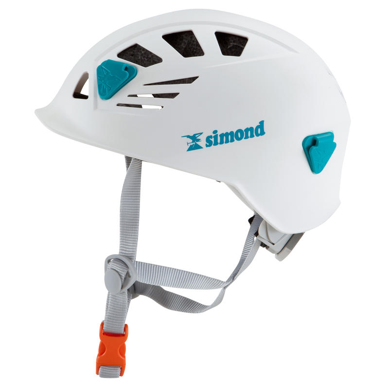Climbing and Mountaineering Helmet - Rock White