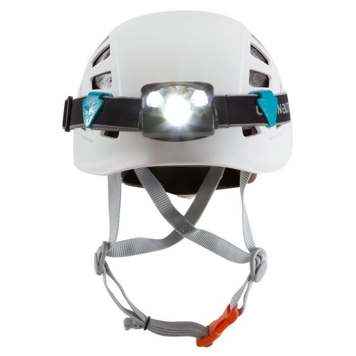 攀岩與高難度登山運動安全帽-岩石白