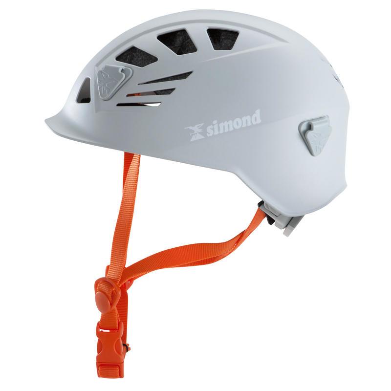 Climbing and Mountaineering Helmet - Rock Grey