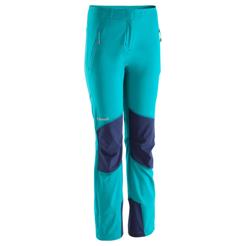 Women's Rock Pants - Turquoise and Cosmos Blue