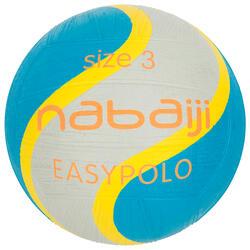 Wasserball Easypolo Größe 3 blau/grau