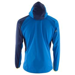 Chaqueta Softshell Alpinismo Simond Light Hombre Azul