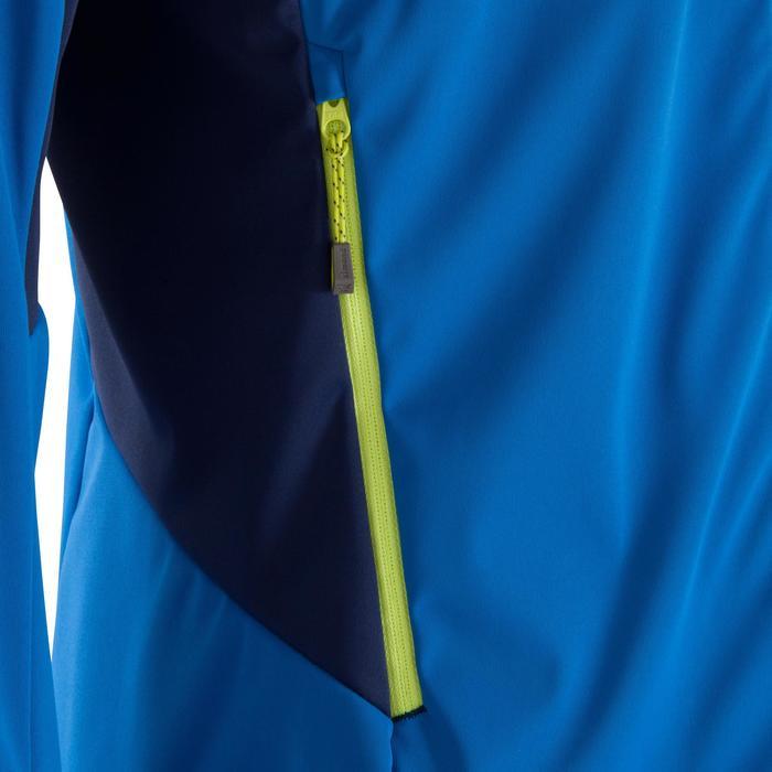 Veste SOFTSHELL d'alpinisme HOMME - ALPINISM Light Bleu