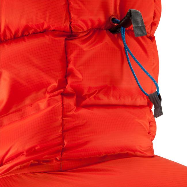 Men's Mountaineering Down Jacket - Makalu Red