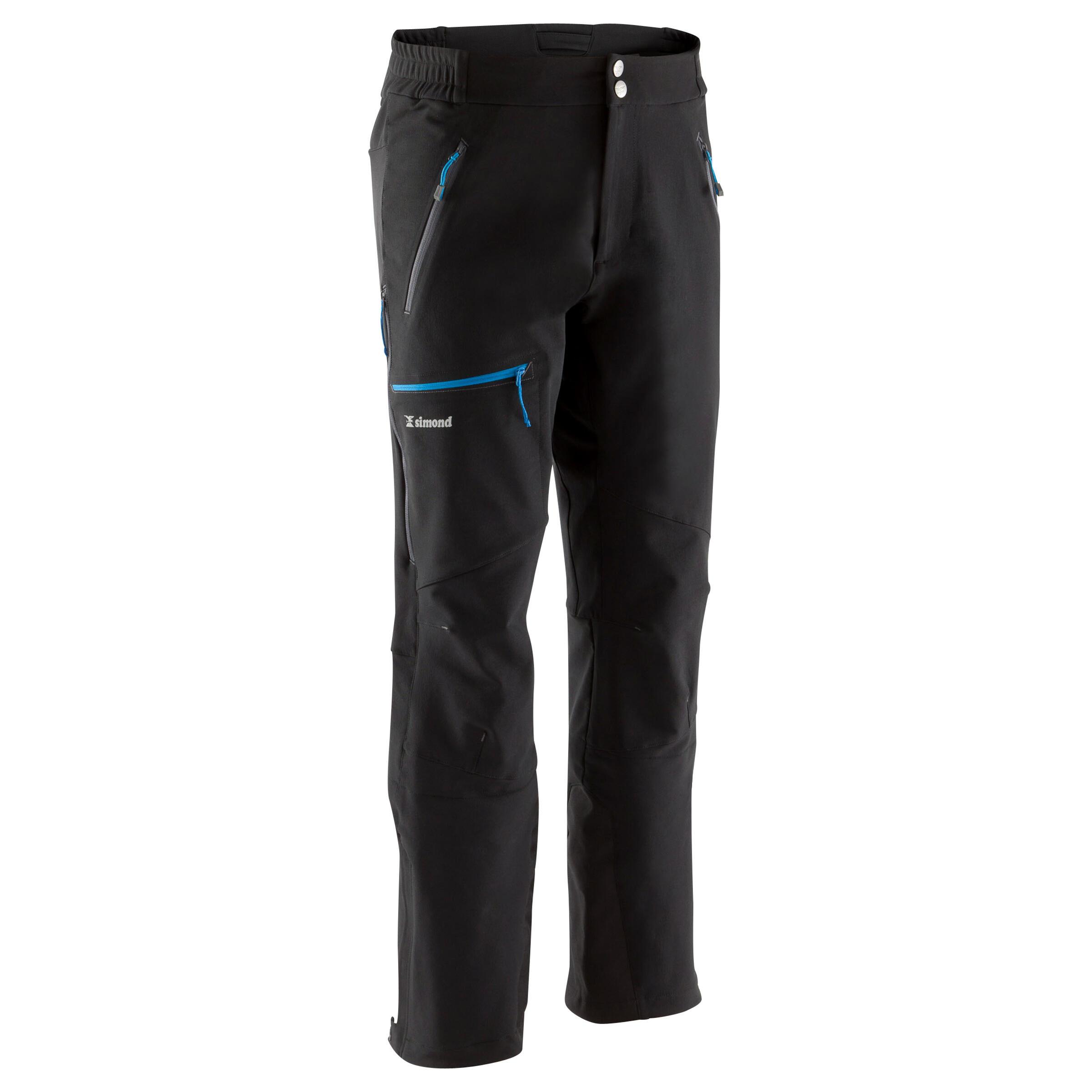Men's Mountaineering Pants - Black