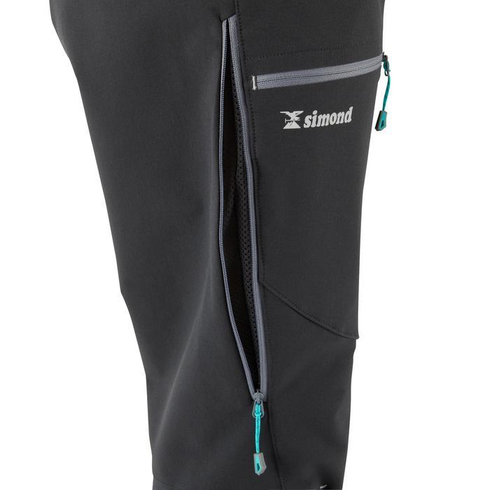 Bergsteigerhose Alpinism Damen schwarz