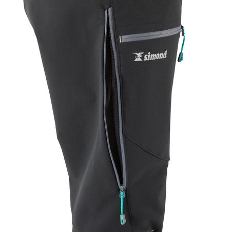 Women's Mountaineering Trousers - Alpinism Black