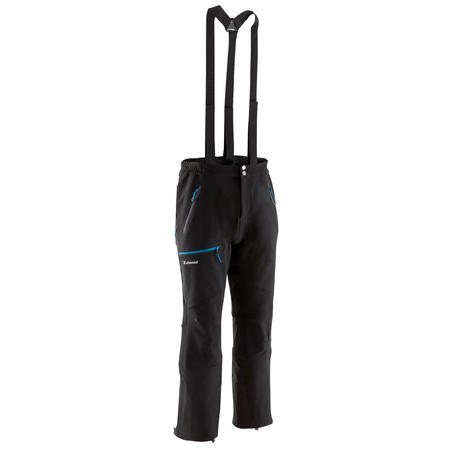 Men's Mountaineering pants- Alpinism Black