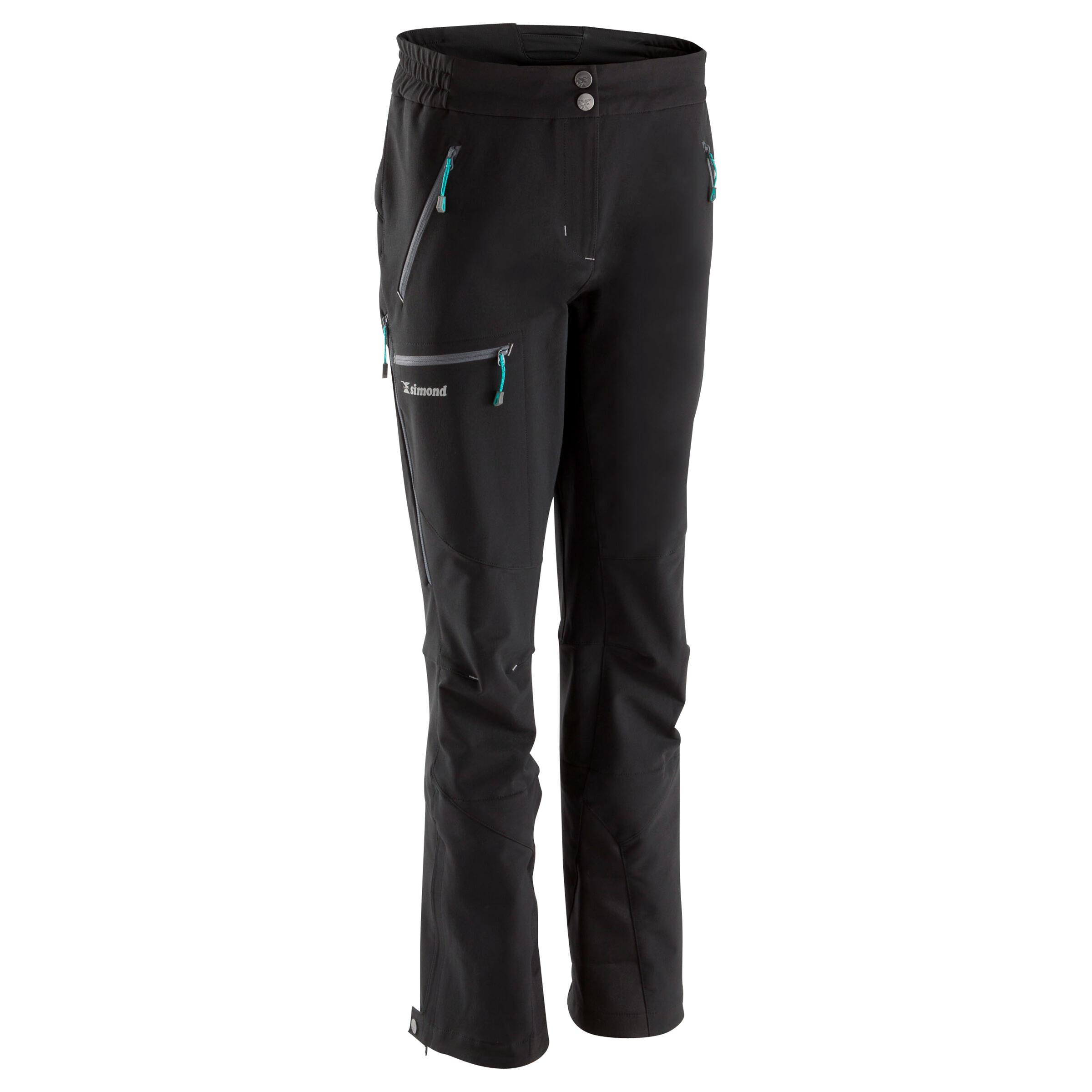 Pantalon Alpinism Negru Damă