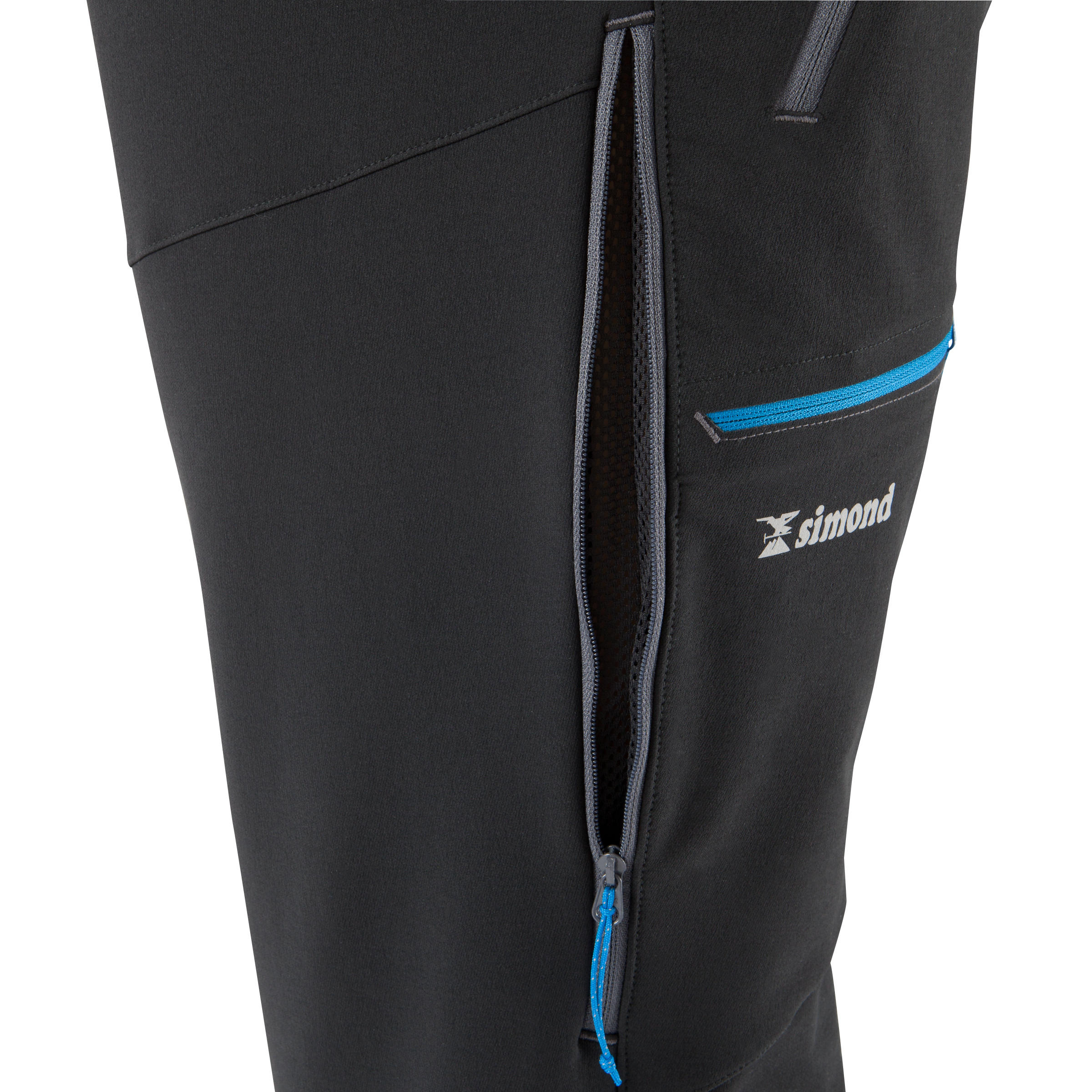 Men's Mountaineering Pants with Gaiters- Simond