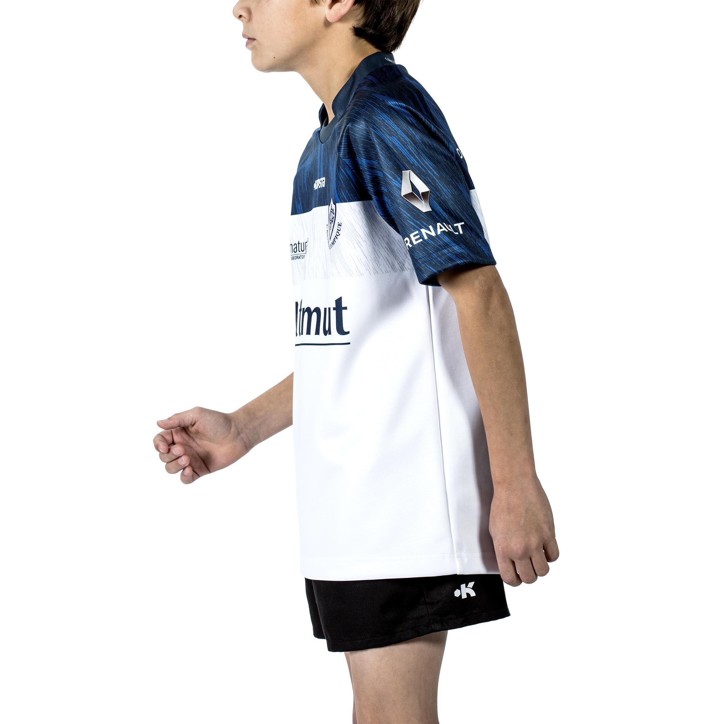 Replica Extérieur Castres Top14 Maillot Enfant Olympique 2016 2017 n0Nwm8