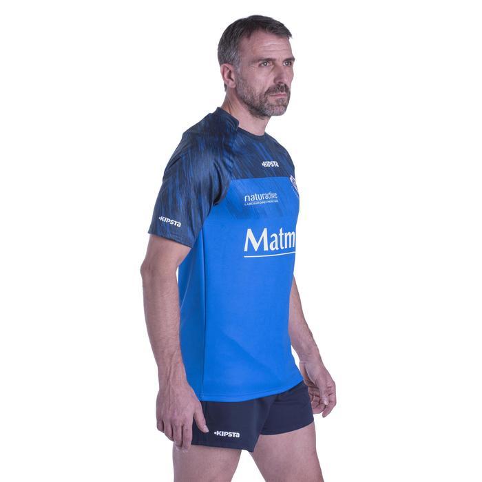 Shirt voor volwassenen, replica thuisshirt Castres Olympique Top 14 2016-2017