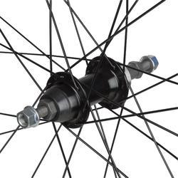Hinterrad Rennrad 700 Freilauf Doppelwandfelge Triban 100