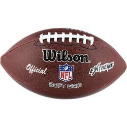 Ballon de football américain de taille officielle pour adulte NFL Extreme marron