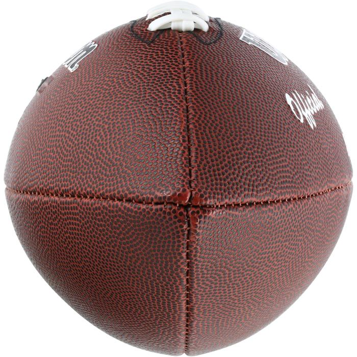 Balón de fútbol americano de talla oficial para adultos NFL Extreme marrón