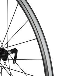 Hinterrad Rennrad 700 Freilauf Doppelwandfelge Triban 520