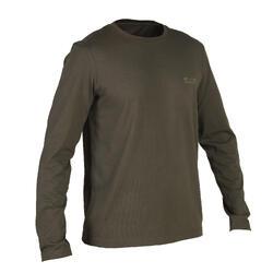 Camiseta Caza Solognac Sg 100 Manga Larga Verde