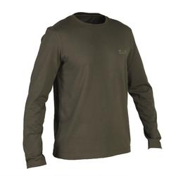 Jagdshirt 100 langarm grün