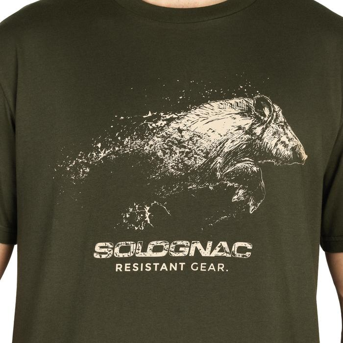 T-SHIRT CHASSE SG100 SANGLIER - 1149857